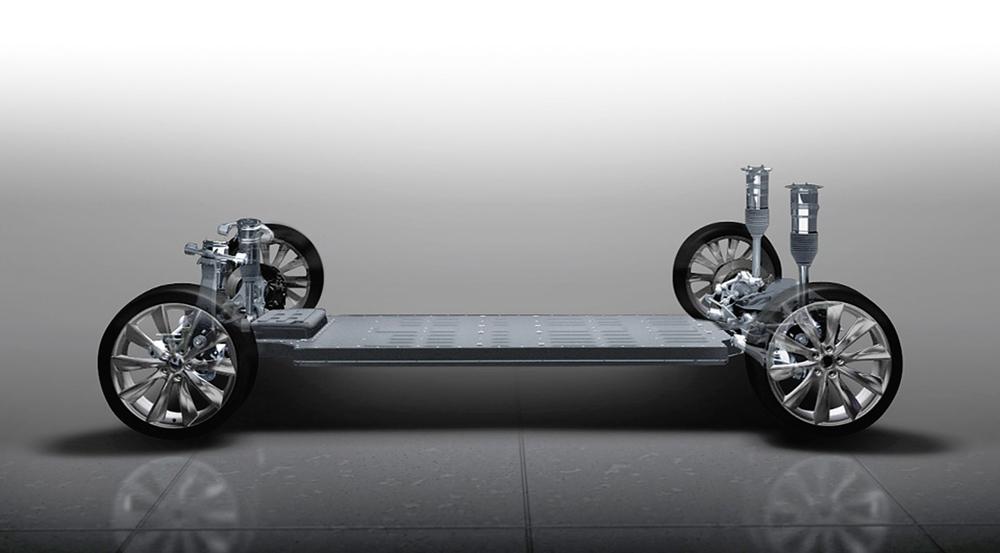 схема автомобиль тесла 2010